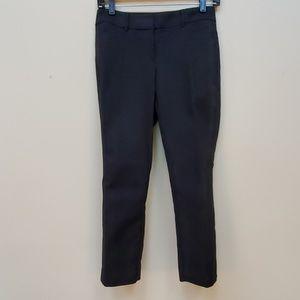 White House Black Market black cropped pants
